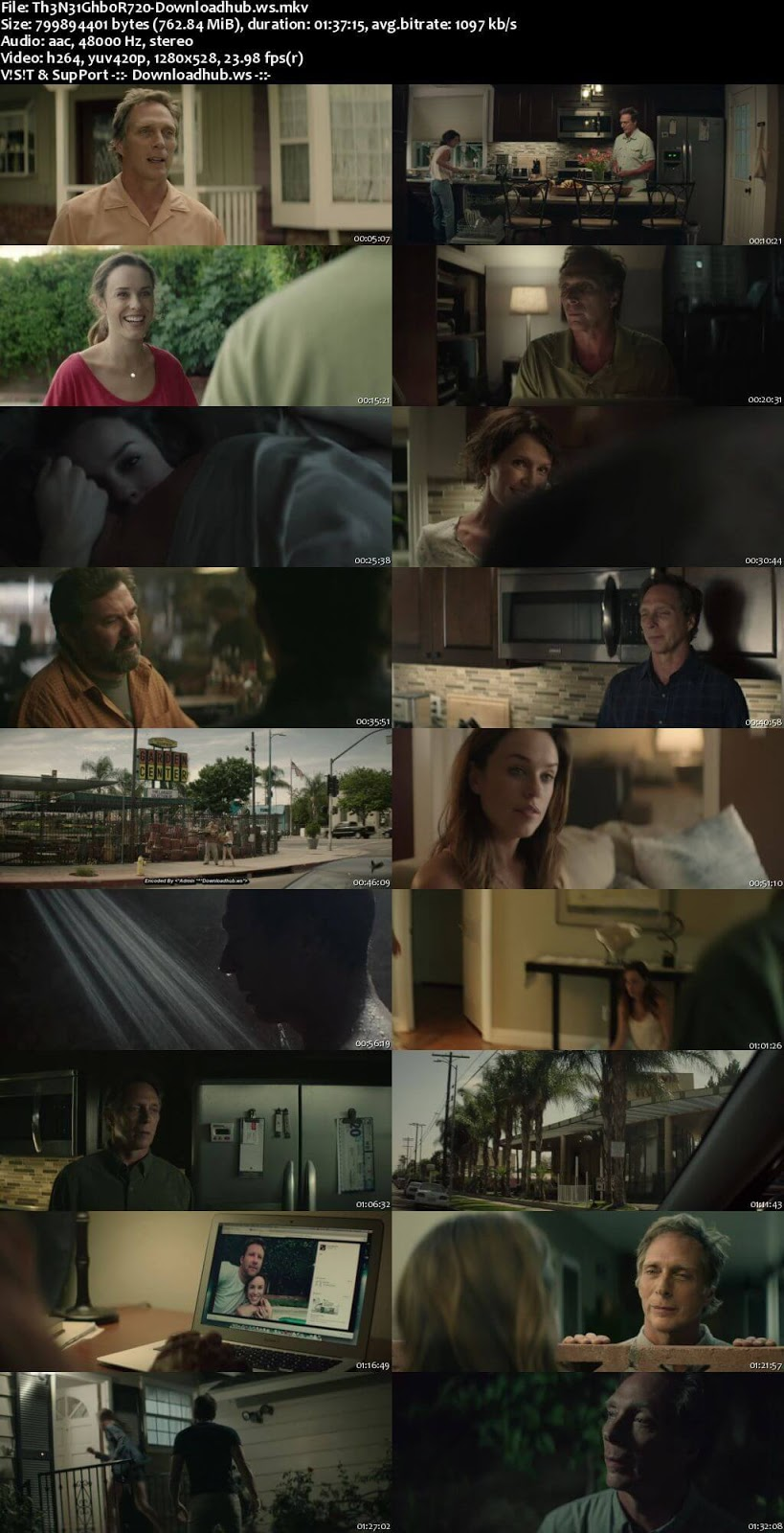 The Neighbor 2017 English 720p Web-DL 750MB