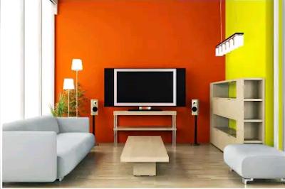 warna cat ruang tamu sejuk