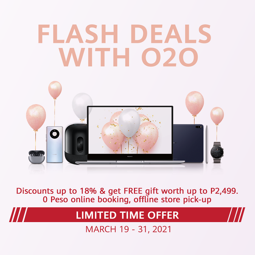Score unbelievable discounts on Huawei's Hot Picks for Better Together 2021 Promo