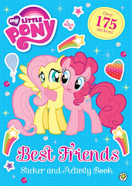MLP Best Friends Sticker and Activity Book Book Media
