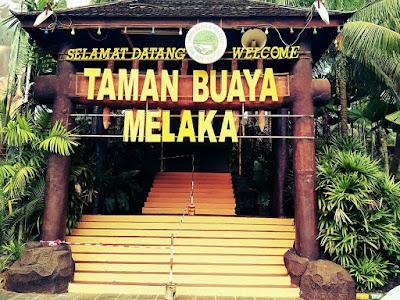 Tempat Menarik di Melaka Taman Buaya