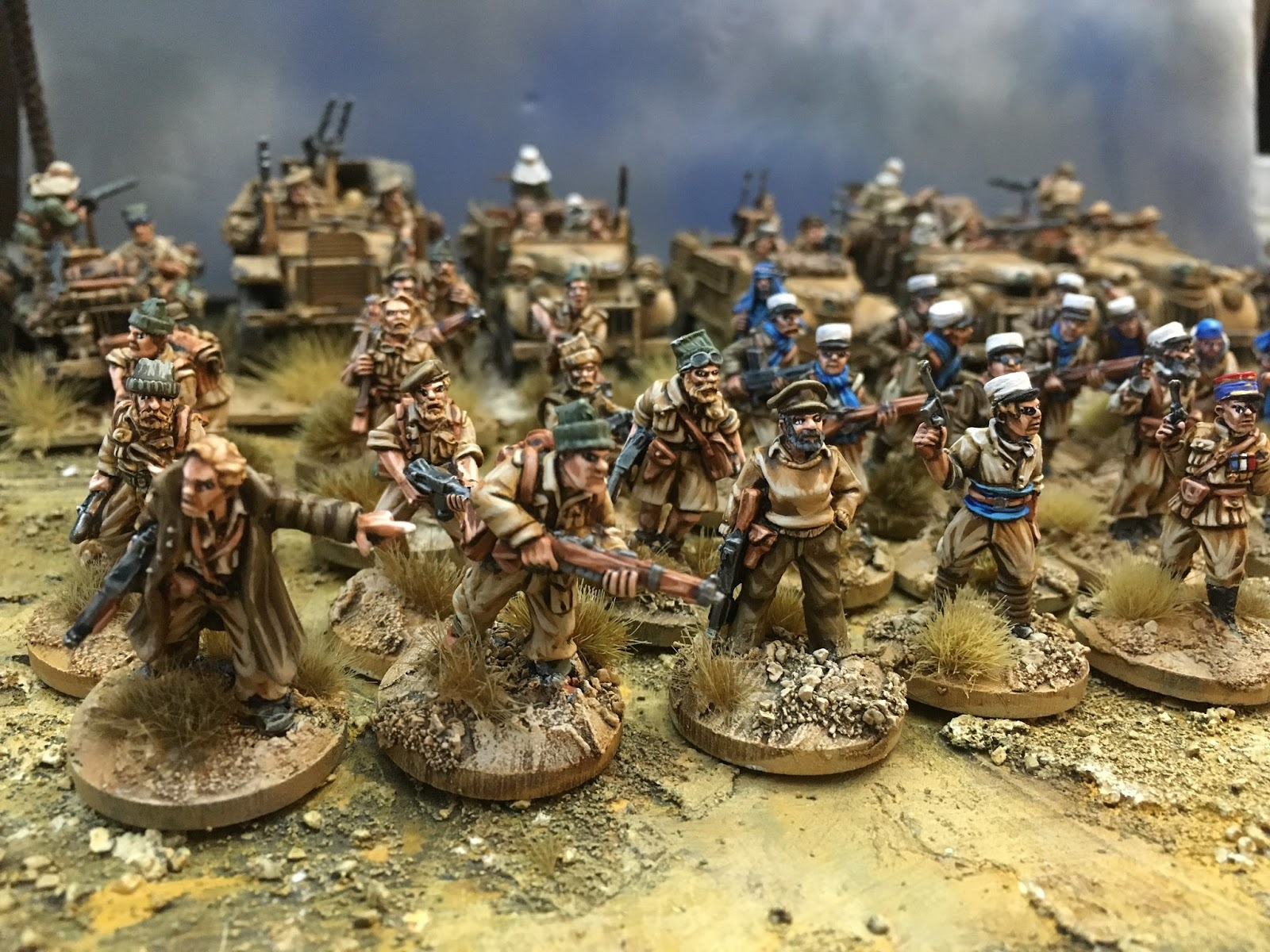 Bolt Action - How I painted the Infantry for my LRDG force ~ WWPD ...