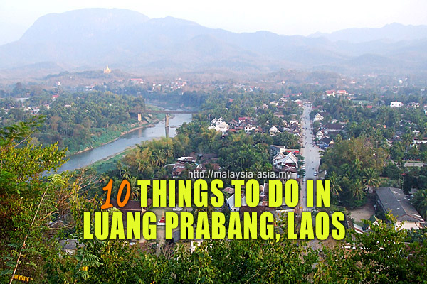 Luang Prabang Things To Do