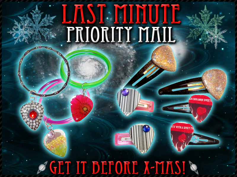 Get it before Christmas with Priority Mail!