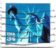 Selo Estátua da Liberdade