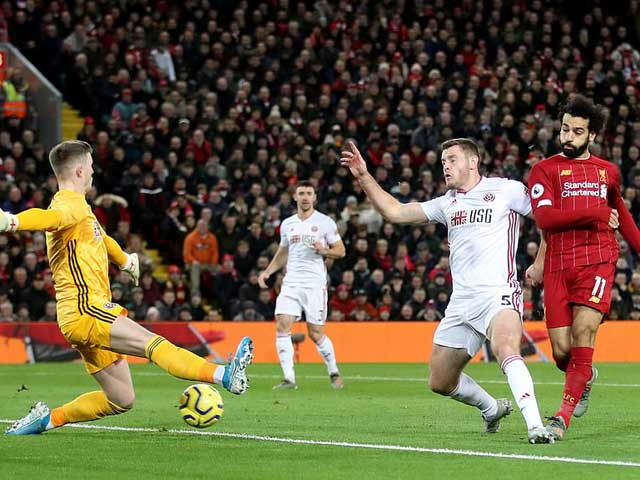 """Video Liverpool 2-0 Sheffield United: """"Song tấu"""" lên tiếng, hú vía phút cuối"""