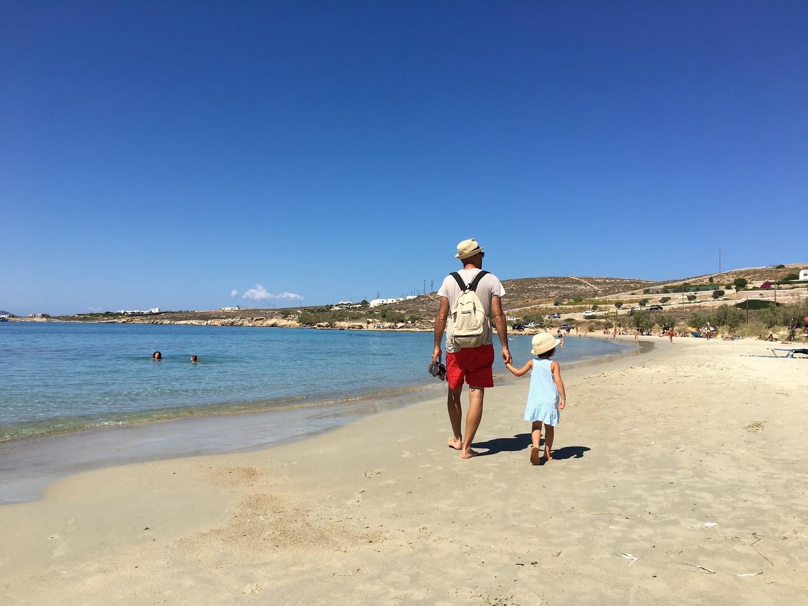 spiaggia di marselo a paros