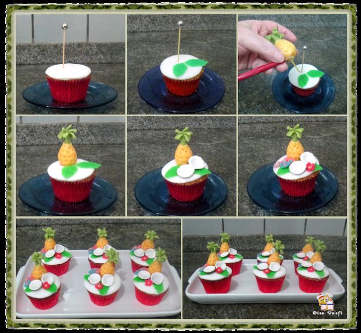 Cupcake pina colada 25