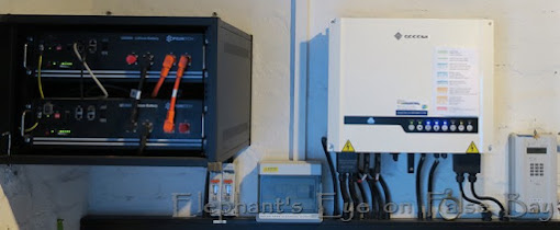 Second solar battery in March