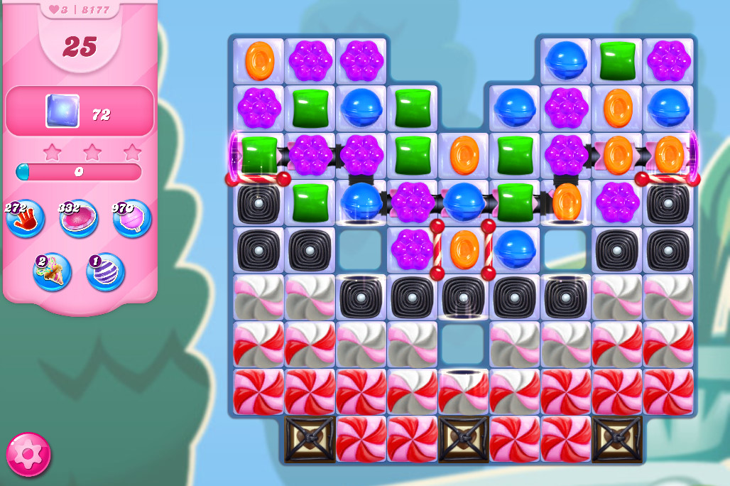 Candy Crush Saga level 8177