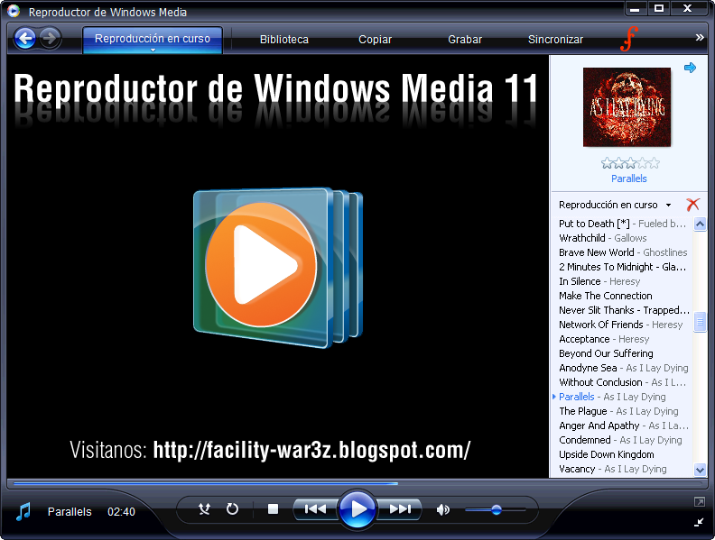Free direct software download: download windows media player 11.