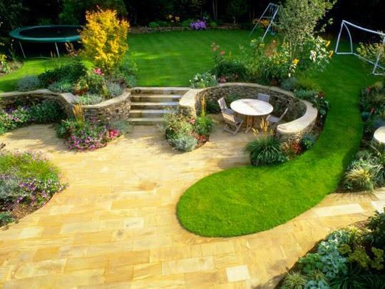 family garden space