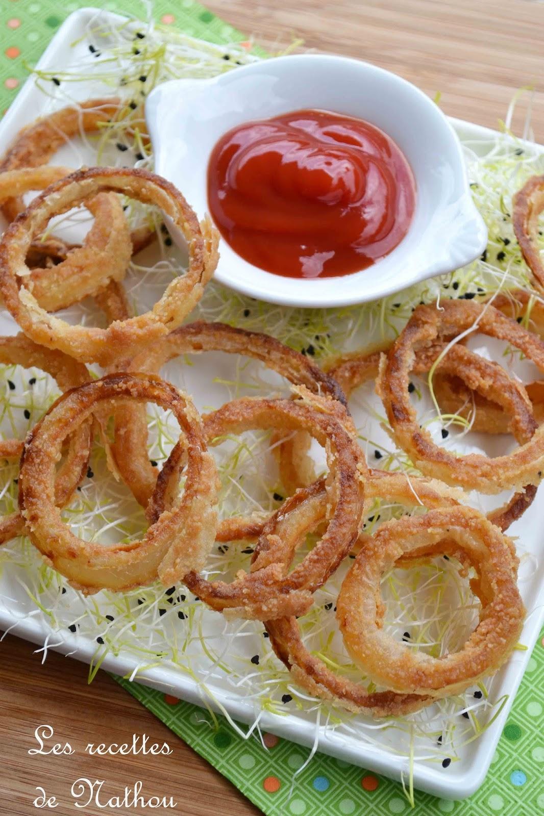 oignons frits au paprika fum onion rings blogs de cuisine. Black Bedroom Furniture Sets. Home Design Ideas