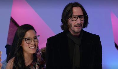 Ali Wong and Keanu Reeves go on a date in Netflix's film Always Be My Maybe
