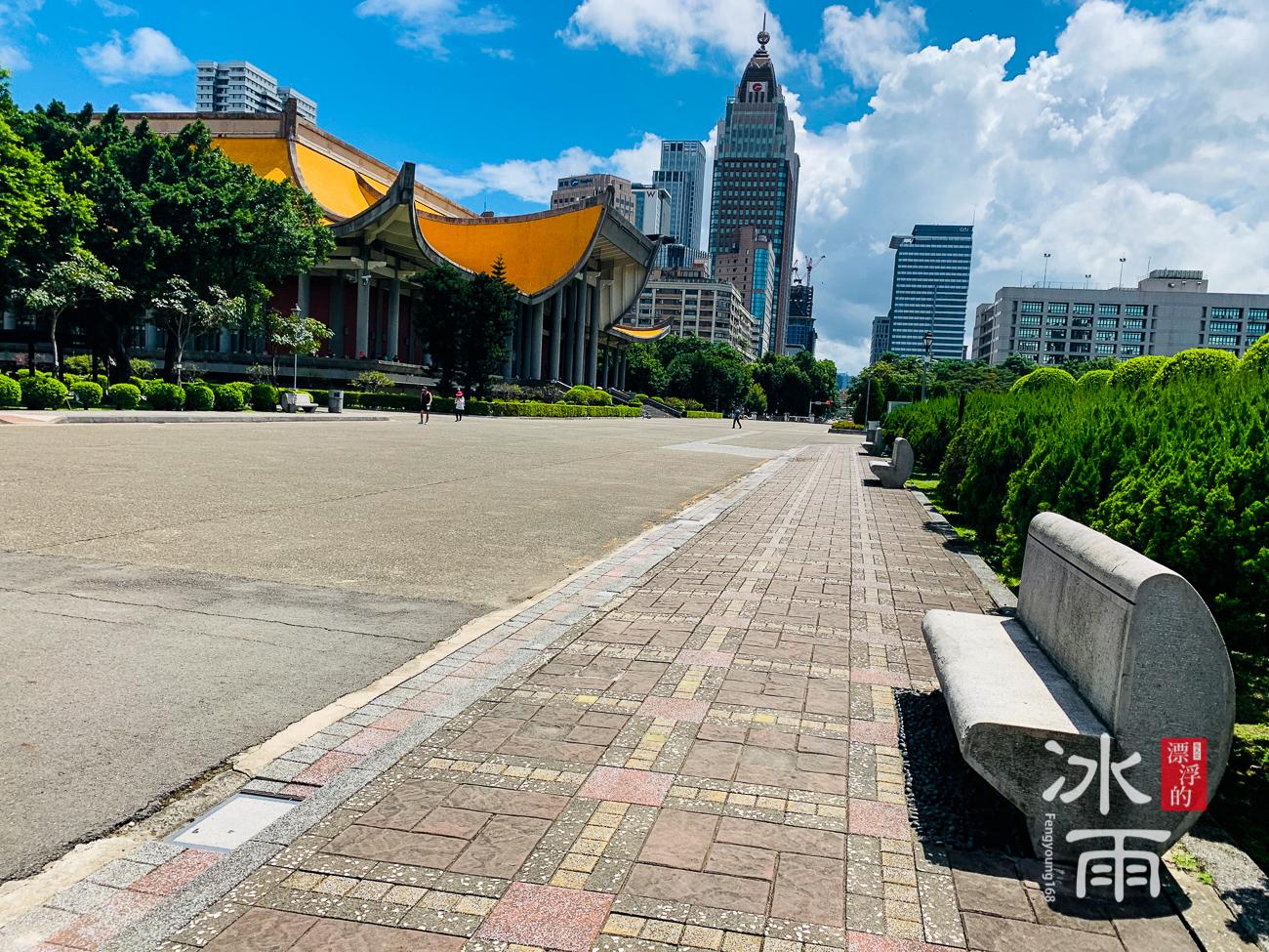 國父紀念館|好天氣的風景