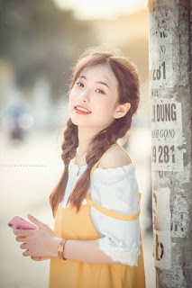 Nữ sinh Thái Nguyên xinh đẹp khiến bao người xao xuyến
