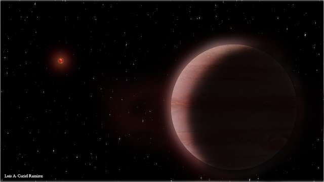 VLBA finds planet orbiting small, cool star