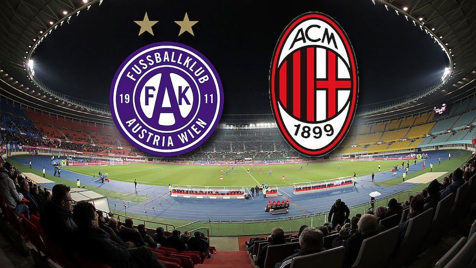 Austria Vienna-MILAN Rojadirecta Streaming: YouTube Facebook le alternative Video per vederla sul Web