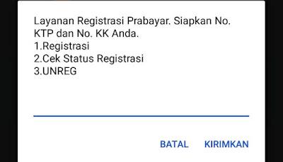Cara Cek Status Registrasi