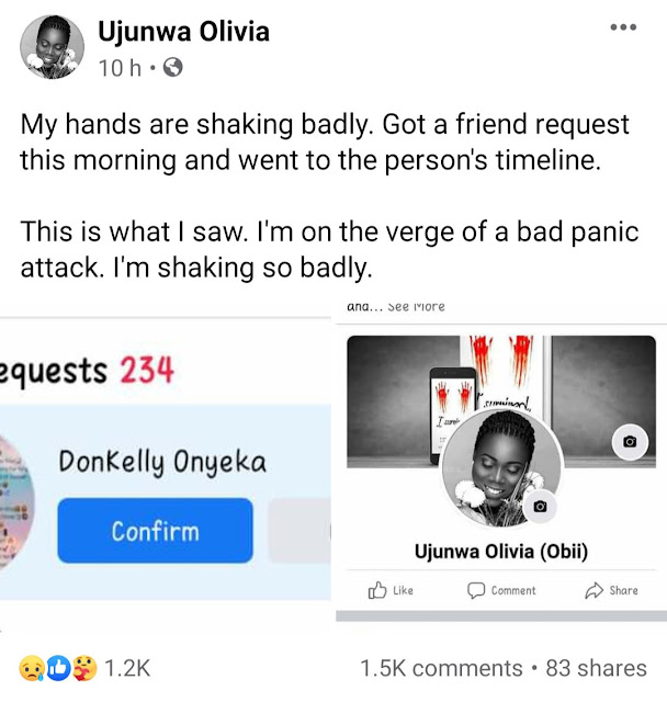 """I did evil to a girl that did nothing to me"" Man confesses on Facebook for gang-raping a girl with his friends after 3 of his friends died mysteriously"