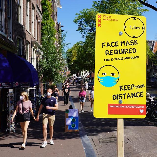 هولندا.. اجتماع طارئ لمجلس مدينة أمستردام بسبب تفشي فيروس كورونا في المدينة