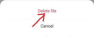 Mobile Me Folder Delete Kaise Kare