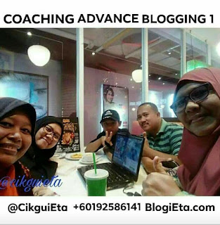 Coaching, group Coaching, advance Blogging, kursus advance, belajar buat blog, teknik penulisan, belajar menulis