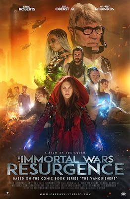 The Immortal Wars: Resurgence [2019] [NTSC/DVDR- Custom HD] Ingles, Español Latino