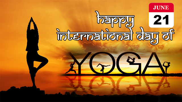 happy international yoga day wallpaper
