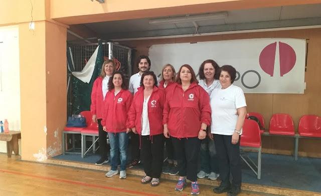 """""""Πανταχού παρόντες"""" οι εθελοντές του Ερυθρού Σταυρού Άργους"""