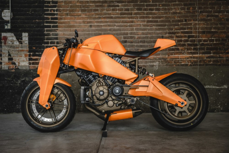 Custom MAGPUL RONIN motorcycle 2