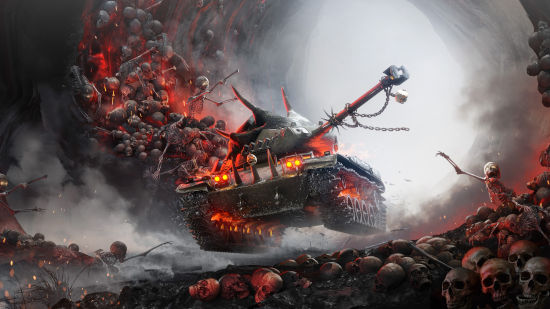 World of Tanks - Char de l'Enfer - Ultra HD 4K 2160p