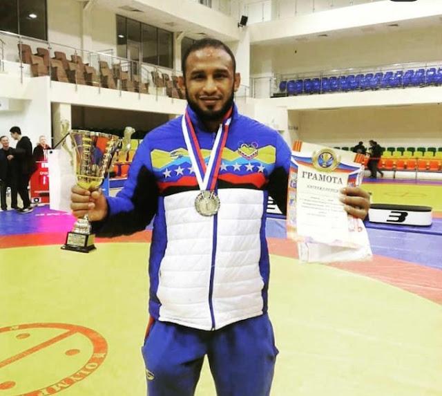 APURE: Llanero Pedro Ceballos logro medalla de oro en Moscú