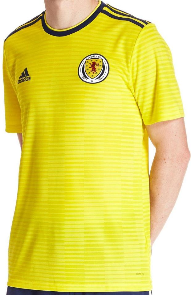 Adidas lança a camisa reserva da Escócia - Show de Camisas 40be13a4e43fe