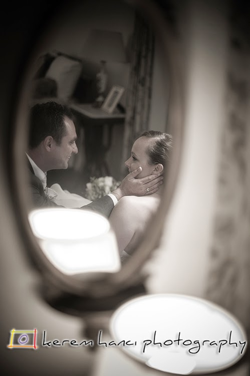 A quintessential reflection shot I usually incorporate to all my wedding shoots.