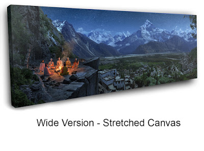 Wide Version - Stretched Canvas