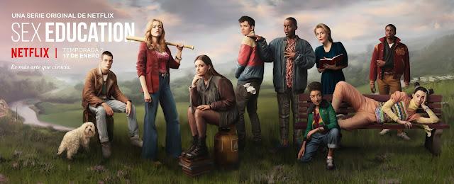 'Sex education', póster de la segunda temporada