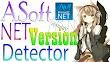 ASoft NET Version Detector 19 R1b Terbaru