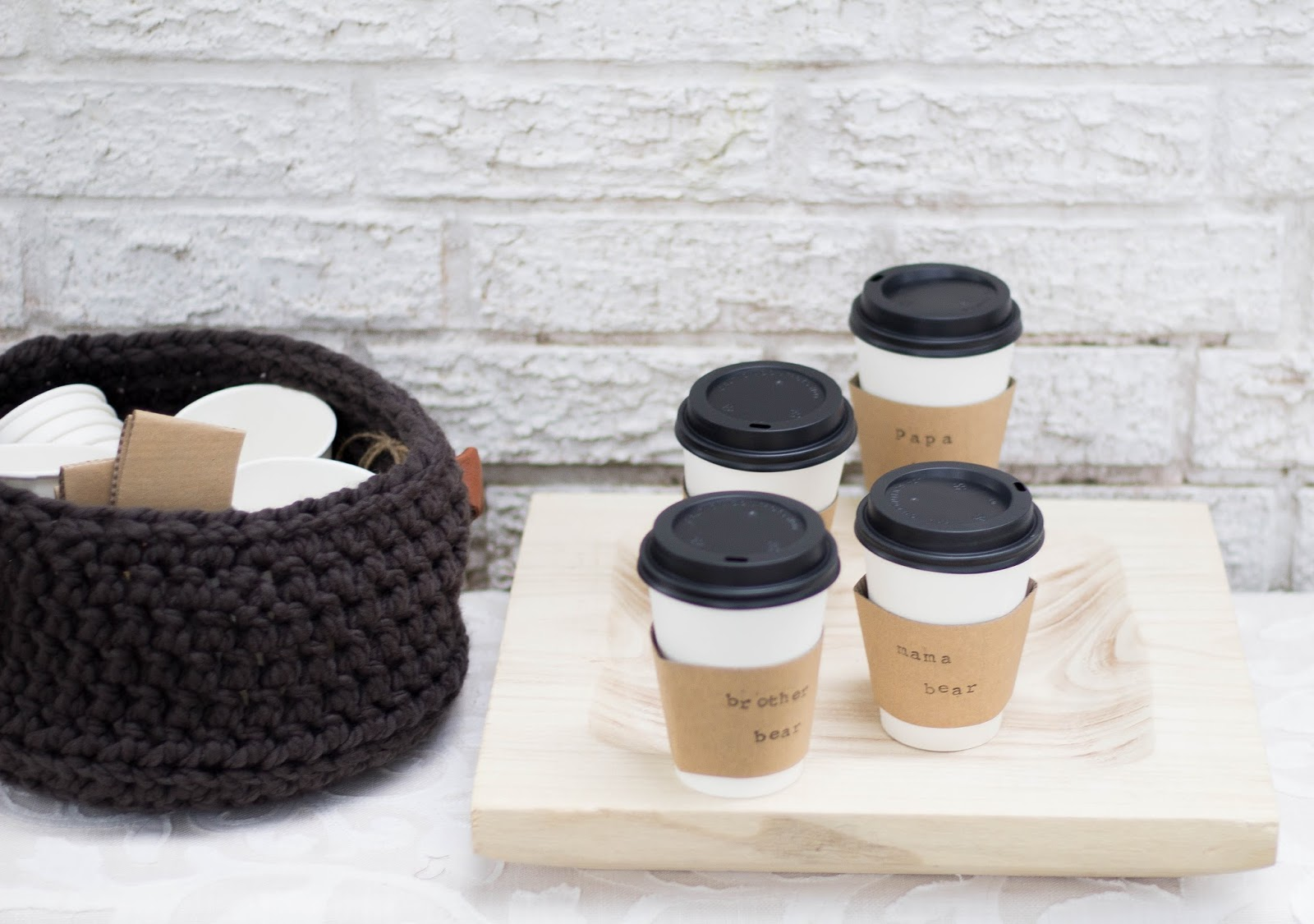 Pretty with Sprinkles: {Personalized Coffee Cups} Perfect