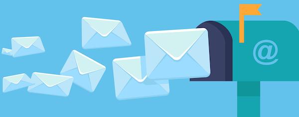 cara posting blog via email