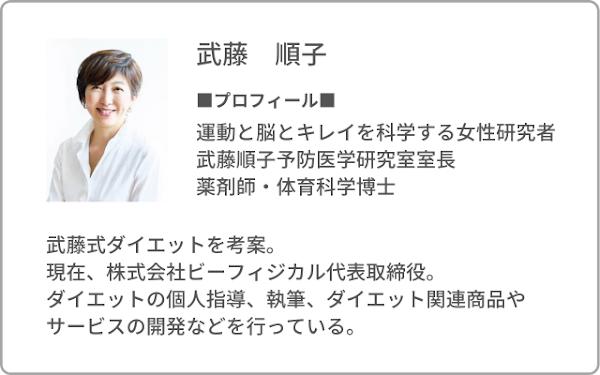 武藤順子先生プロフィール