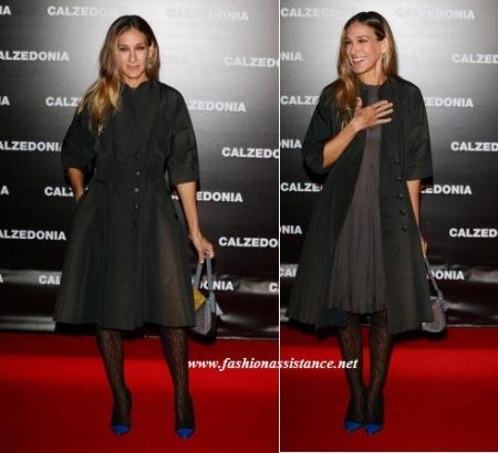 Fashion Assistance  Paula Echevarría y Sarah Jessica Parker juntas en el  gran show de Calzedonia en Italia. Vídeo 6e454ebec302b