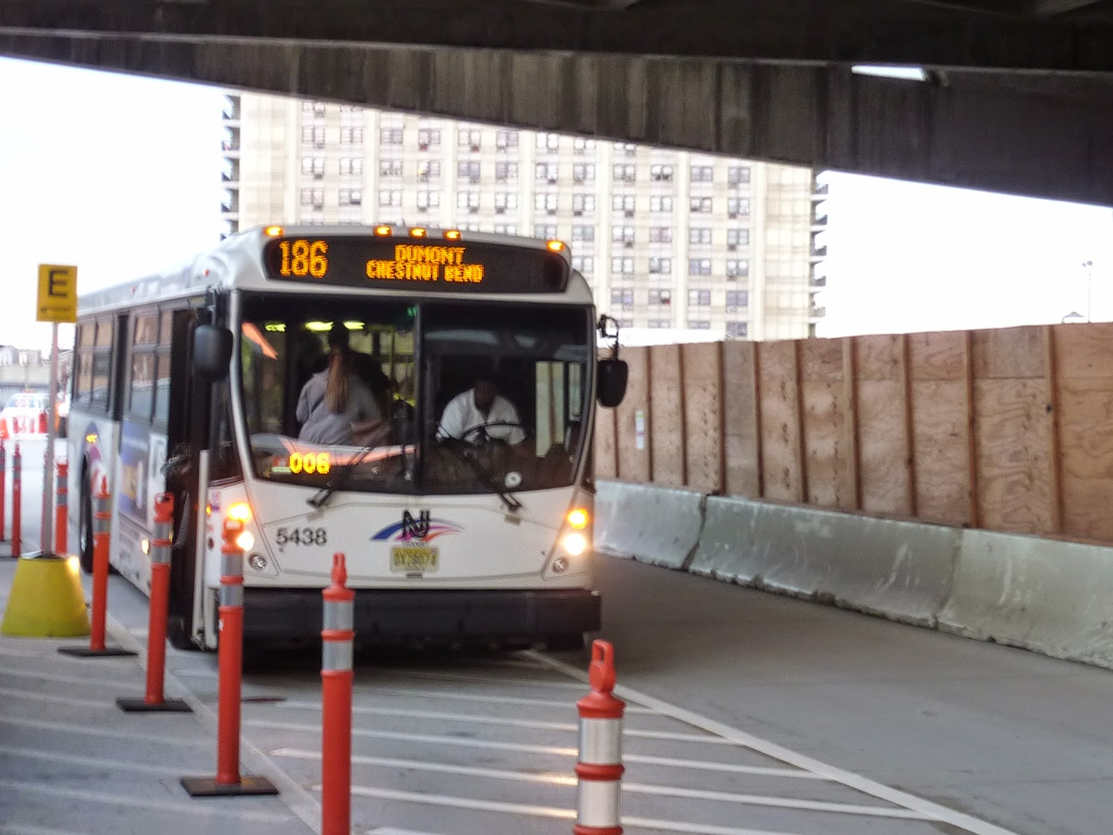 Njbus George Washington Bridge Bus Station Renovations Update