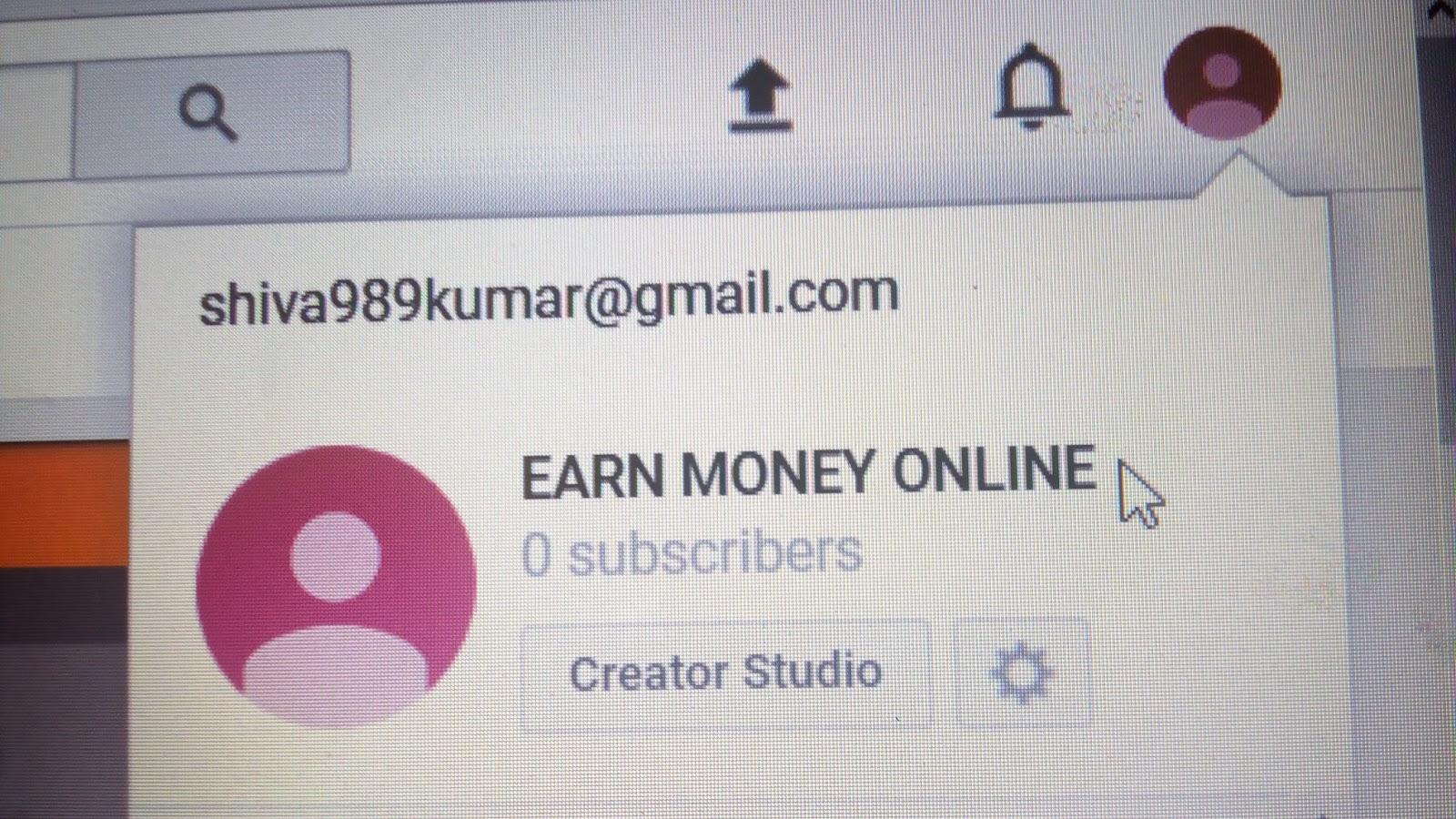 EARN MONEY ONLINE NOT TO GET RICH