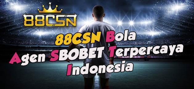 88CSN Agen SBOBET Terpercaya Indonesia