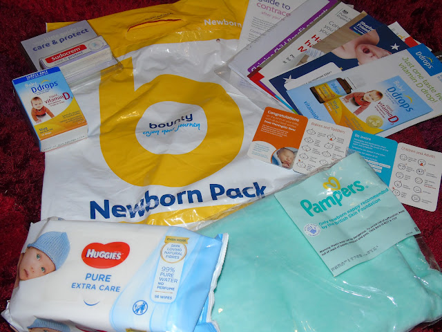 Bounty newborn pack with freebies