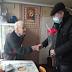 На Гребінківщині привітали найстаршого жителя села Короваї , ветерана, з 94-им роком народження