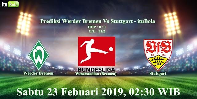 Prediksi Werder Bremen Vs Stuttgart - ituBola