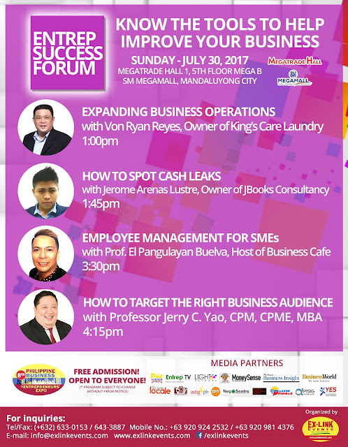 Know the Tools to Help Improve Your Business at PBEX 2017 this July