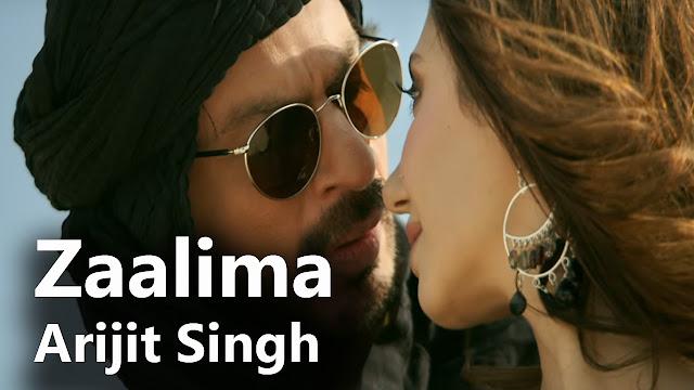 Zaalima Lyrics - Raees - Arijit Singh